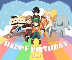 Happy birthday to KYLE by horosano