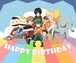Happy birthday to KYLE
