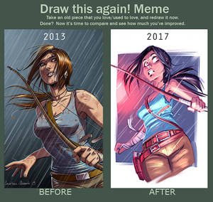 Draw This Again - Tomb Raider Reborn Contest