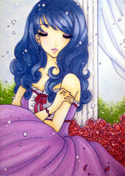 ACEO : Alone by suiren-chan