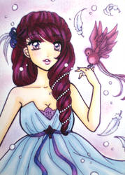 ACEO : Flight by suiren-chan