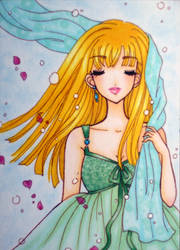 ACEO : Letting Go by suiren-chan
