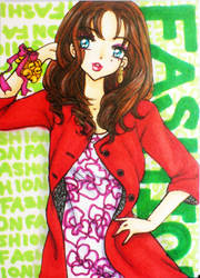 ACEO : Fashion by suiren-chan
