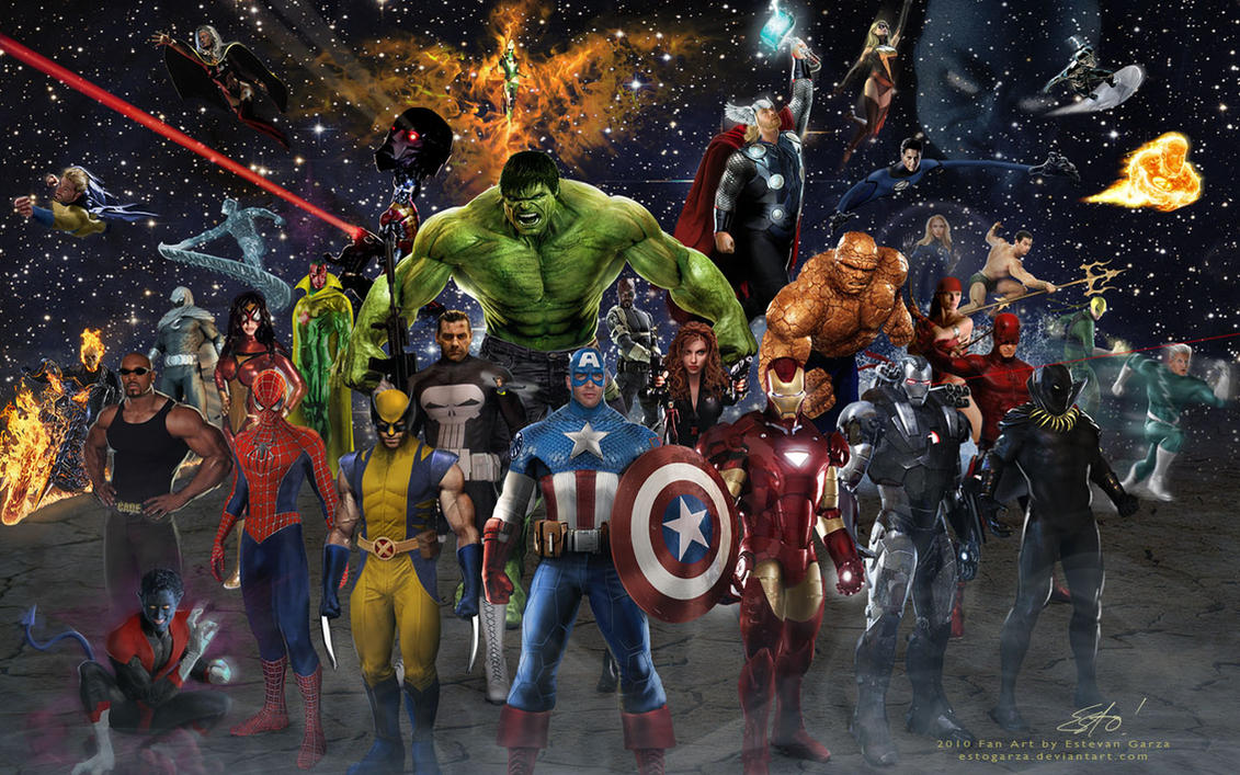 Good Wallpaper Marvel Deviantart - marvel_team_by_estogarza-d32uhc8  Pic_877796.jpg