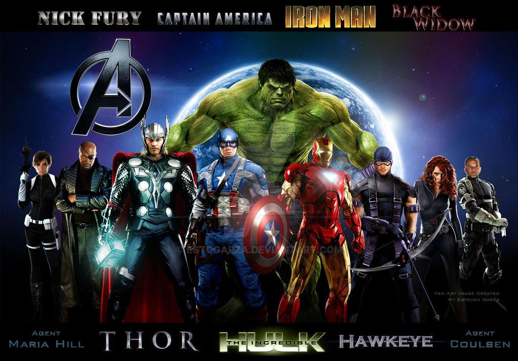 Avengers Movie Wallpaper 2.0 by estogarza