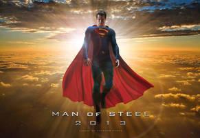 Man of Steel Wallpaper by estogarza