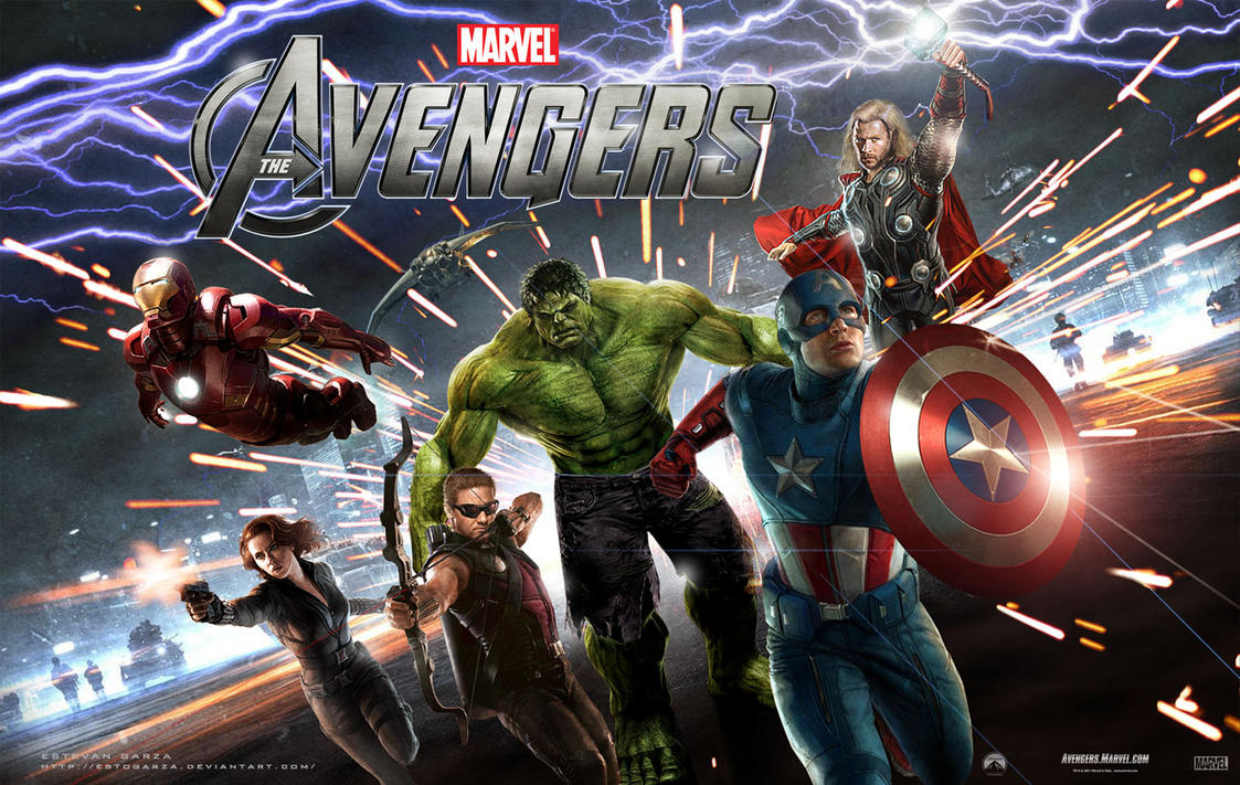 the avengers movie wallpaper 3estogarza on deviantart