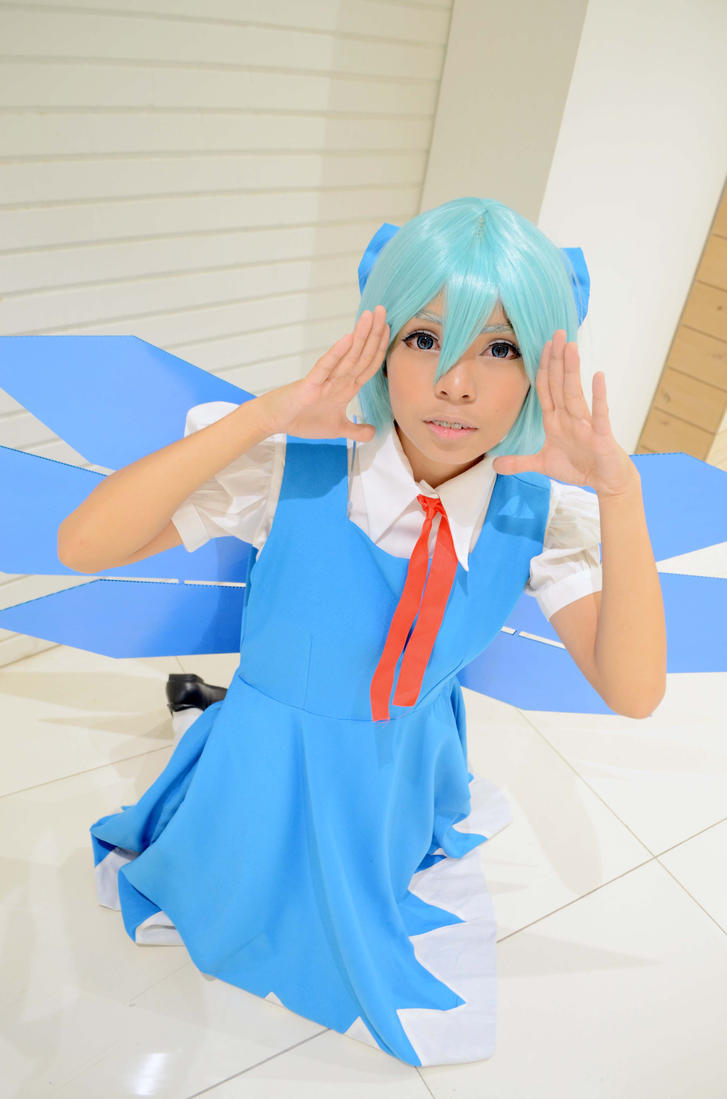 Cirno 9/9 !! by kahllie