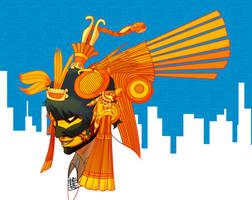Tezcatlipoca avatar concept #1 by Cesar-fps