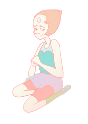 Pearl Steven Universe by ToxicBiscuits