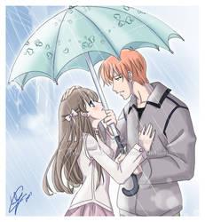 Kyoru: Rainy Date by Nardhwen