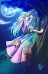 Commission-Zelink- Under The Moonlight