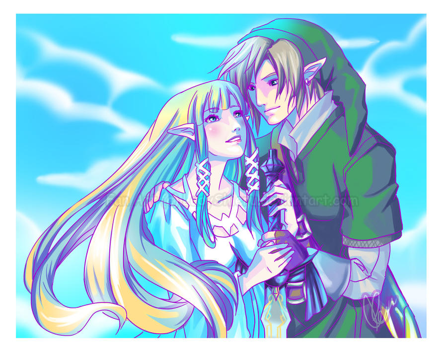 Zelink- Our Destiny by Nardhwen on DeviantArt Zelink Skyward Sword