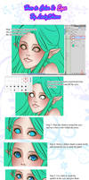 How to Color Tutorial 2: Eyes by Nardhwen