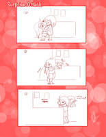 .:Short Comic 15- Surprise Attack:. by Nardhwen