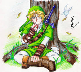 Link:Rest and a snack by Nardhwen