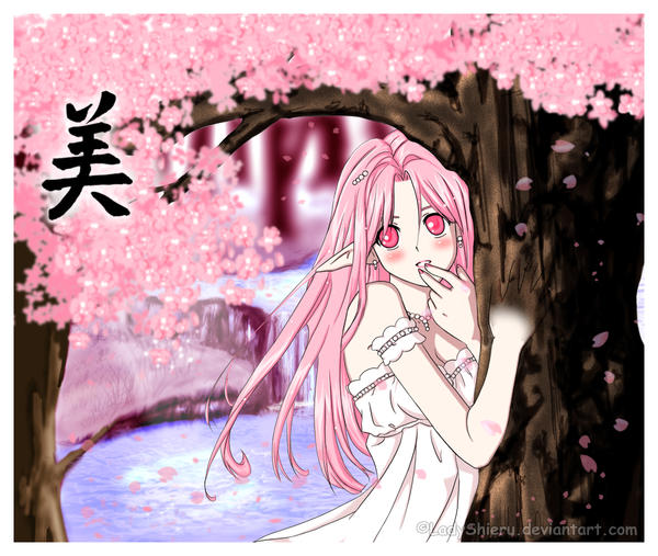 Spirit of the Sakura by Nardhwen