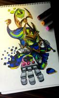 Final Boss Veigar by FeaRei