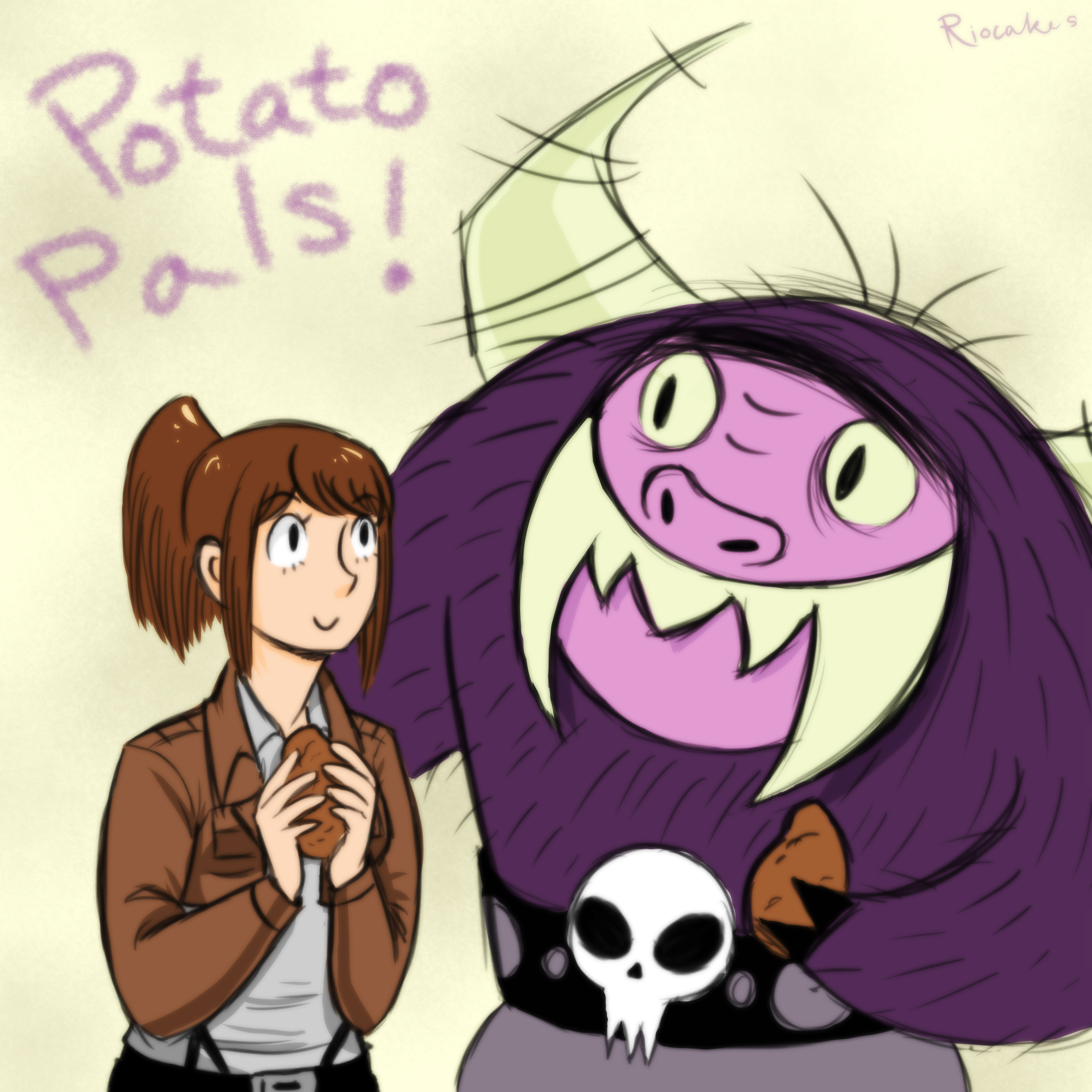 Potato Pals! by Riocakes