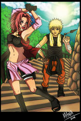 NaruSaku . Training