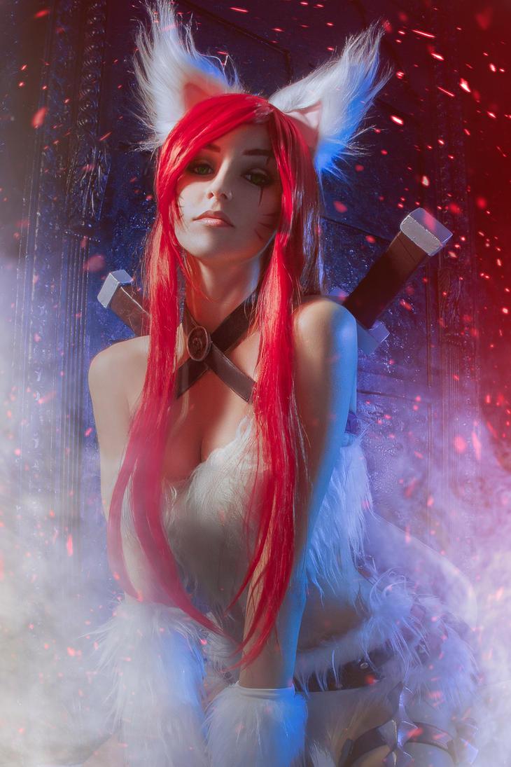 Katarina - League of Legends by Axilirator