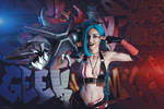 Jinx - League of Legends by Axilirator