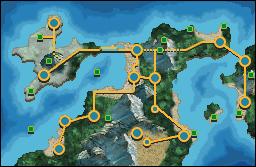 Hopwer Region - Pokemon Chrome and Brome Version by Moebiusium