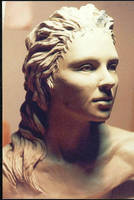 Life size bust by mkm3d
