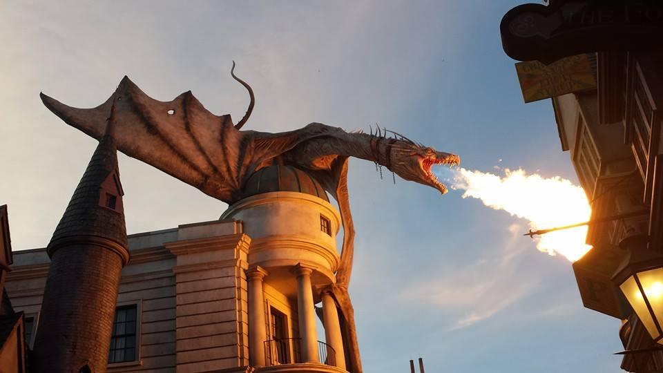 Diagon Ally , Dragon by mkm3d