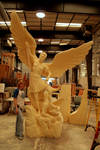Archangel Michael and Demon