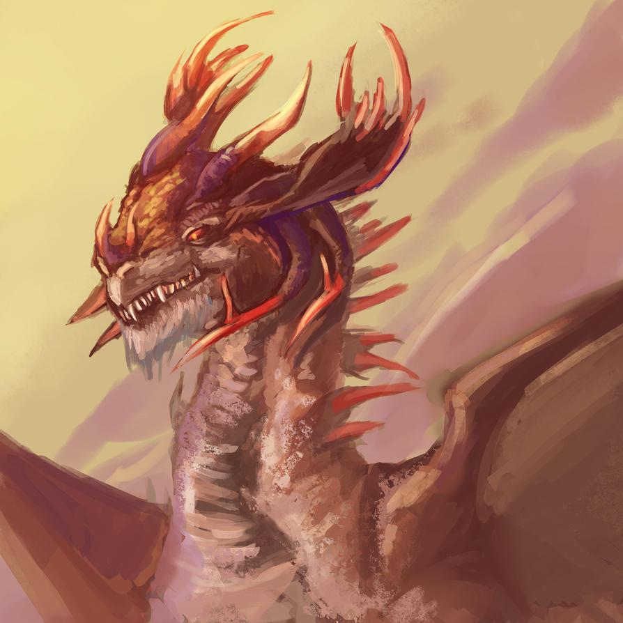 Dragonlord Atarka by Punch-Holer