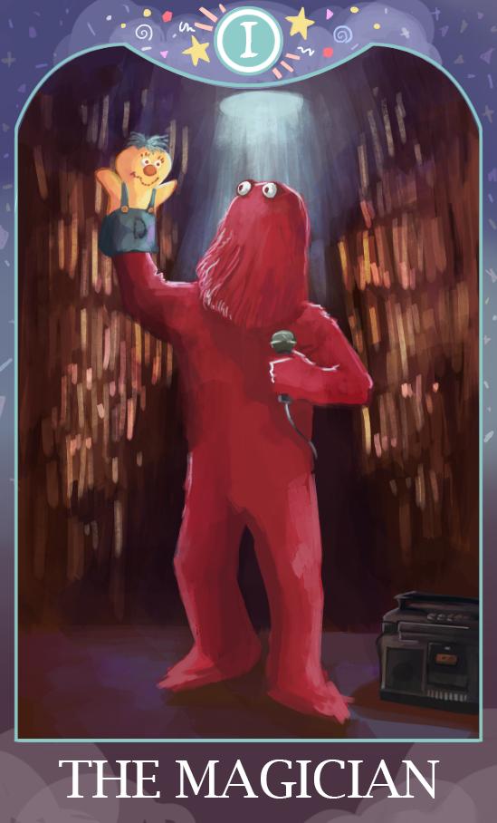 DHMIS Magician tarot by Punch-Holer