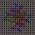 Brigid's octomino chain mesh