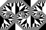 Bracket spiral frieze