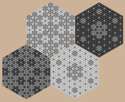 Hexaflake gaskets by markdow