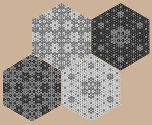 Hexaflake gaskets