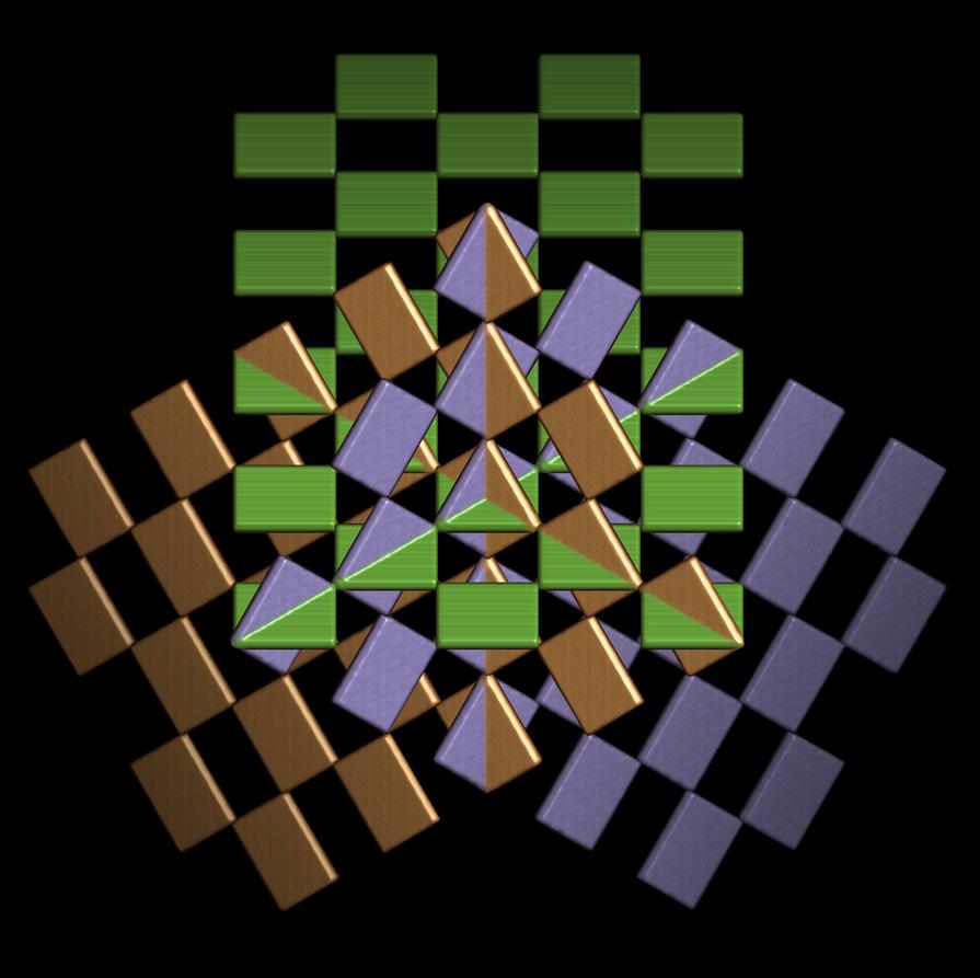 intersecting orthogonal planes by markdow on DeviantArt Orthogonal Art