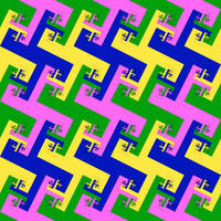 mixed spiral tiling by markdow