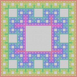 nested circuits Sierpinski carpet