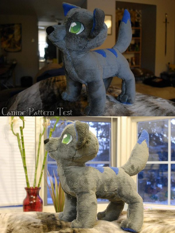 Canine Plush by Sioteru