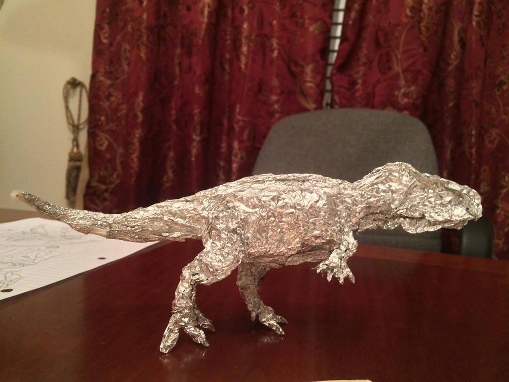 Ablelisaur Aluminum Foil by Franchescco