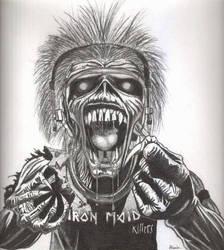Eddie-Iron Maiden by Ellandan
