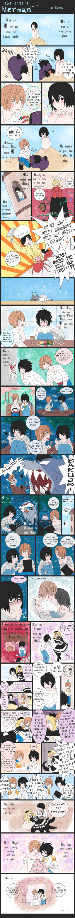 DN - The Little merman p.2 by Hyura