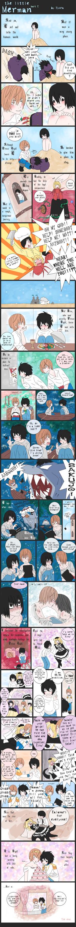 DN - The Little merman p.2 by Hyura