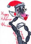 Happy Holiday- SlanderOptim7th! (FNaF Mangle)