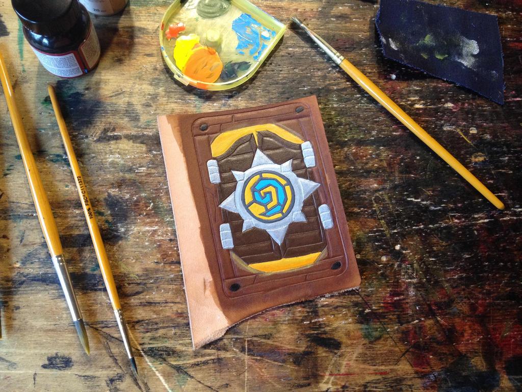 Blizzcon cardback Hearthstone cardholder by Arnakhat