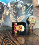 Armored titan leather wallet by Arnakhat
