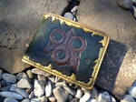 Nurgle tooled leather wallet by Arnakhat