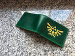 Green Zelda bifold wallet by Arnakhat