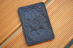 Hearthstone Icecrown leather cardholder by Arnakhat